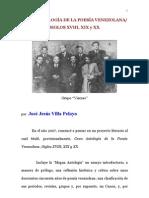 GRAN ANTOLOGÍA DE LA POESÍA VENEZOLANA/ SIGLOS XVIII, XIX Y XX