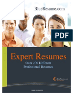 BlueResume.com Expert Resume Book 4.0