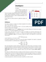 Matrice-(mathematiques)