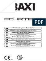 Manual BAXI FOURTECH 1.140
