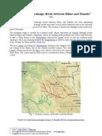 The Prehistoric Waterdivide Between Rhein and Danube