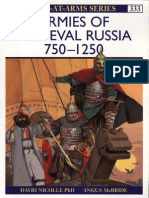 Osprey Armies of Medieval Russia 750-1250
