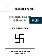 Hitlerism the Iron Fist in Germany Nordicus Dorothy Waring 1932 249pgs POL.sml