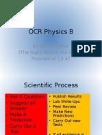 OCR Physics B