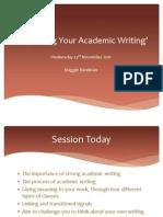 Improve Your Academic Writing