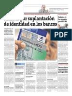 Alarma por suplantación de identidad en los bancos