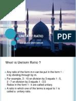Unitary Ratio