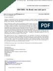 Resposta do Movimento SOS Estradas Federais/MG à ANTT sobre a cobrança de pedágio na BR-381