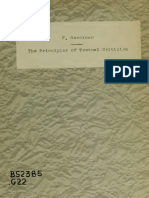 The Princples of Textual Criticism, Frederic Gardiner, 1876