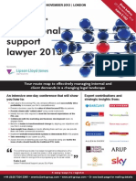 Professional support lawyer 2013