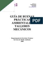 Guía de Buenas Prácticas Ambientales Talleres Mecánicos
