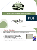 Third Generation Mobile Networks