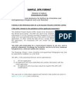 DPR Format Sample