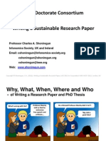 Writing a Sustainable Research Paper