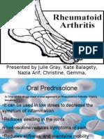 Rheumatoid Arthritis Presentation 3