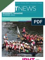 JRHT Residents Magazine Summer 2013
