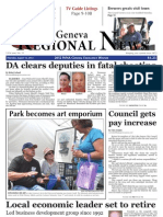The Lake Geneva Regional News Aug. 15, 2013, edition