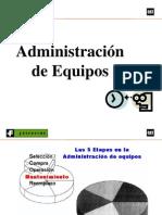 Administracion de Equipos - Ing. Gary Delgado Salazar
