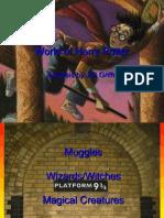 Harry Potter World Analysis