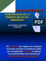HEMORRAGIA  PRIMERA MITAD DEL EMBARAZO.ppt