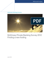 McKinsey Private Banking Survey 2012
