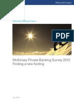 McKinsey Private Banking Survey 2012