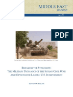 iMiliary Dynamics of the Syrian Civil War, Brookings