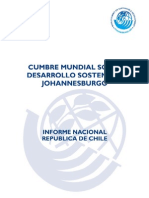 Informe Chile Johannesburgo