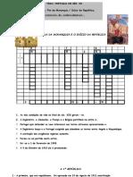SÉCULO XX - PRIMEIRAS DÉCADAS