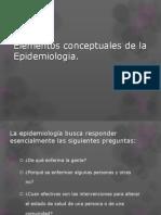 Elementos Conceptuales de La Epidemiologia