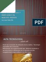 Alta Tecnologia y Mercadeo en Nuevos Medios