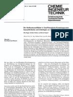 Die Stoffaustauschflache in Gas-Flussigkeits-Kontaktapparaten Auswahlkriterien Und Unterlagen Zur VergroBerung - CIT 14-1973