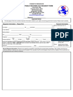 Bridgewater OPRA Form