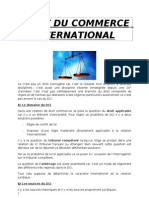 Droit Du Commerce International (1)