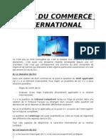 Droit Du Commerce International (1)