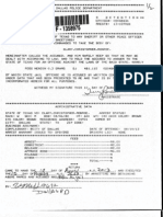 Police report in Aug. 10, 2013 arrest of Christopher Clary in Dallas