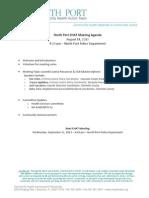 North Port CHAT Agenda 8.13.doc
