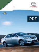 Manual de Usuario Corolla 2013