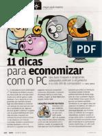 11 Dicas Para Economizar Com o PC (Info)