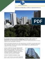Procurando um Lar Espaçoso em Salvador, Confira os Apartamentos na Graça