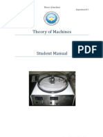 Theory of Machine Student Manual
