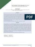 Dokumen 585 Volume 12 Nomor 2 September 2011 Pemanfatan Data Mining Untuk Prakiraan Cuaca.