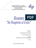 Resumen Su Pasaporte Al Exito