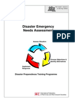 2000 Disaster Emergency Needs Assessment Disaster Preparedness Training Programme IFRC