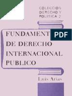 Luis Arias - Fundamentos de derecho internacional público - copia