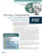 Cloud Based Unified Commmunications White Paper