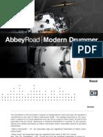 Abbey Road Modern Drummer Manual English