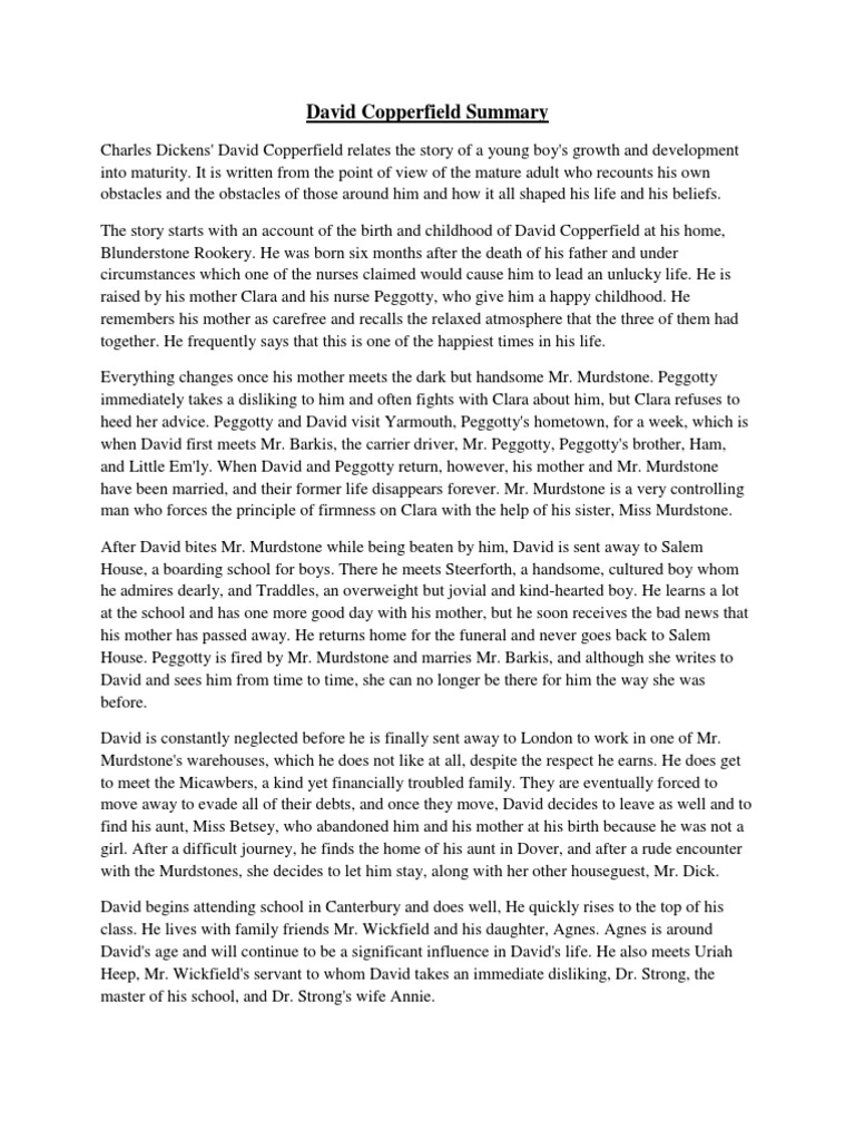 david copperfield summary david copperfield british novels david copperfield summary david copperfield british novels adapted into films