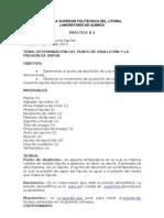 57487906 Determinacion Del Punto de Ebullicion y La Presion de Vapor