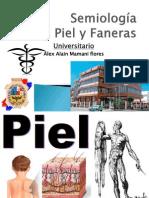 Semiologia de Piel y Faneras